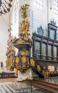 Cathedral, Oliwa, Poland