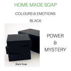 Black Soap, Home Made Soap, Black Power, Soap Making, Decorative Boxes, Colours, Homemade, Home Decor, Homemade Dish Soap