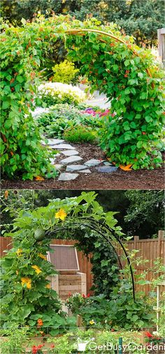 Easy and Beautiful DIY Garden Trellis Gardens Spaces and Easy