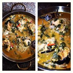 Healthy catfish soup. Recipe on www.daintytreats.wordpress.com