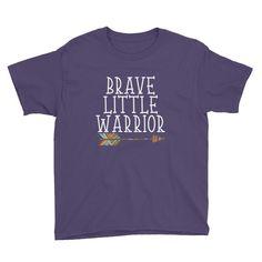 Brave Little Warrior - Youth Short Sleeve T-Shirt