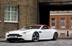 Limited edition Aston Martin V12 Vantage Roadster Front Angle2 photo