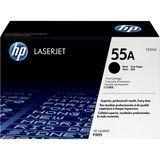HP - 55A Black Laserjet Toner Cartridge - Black