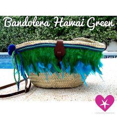 Bandolera Hawai Green, color para primavera!
