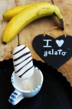 I LOVE GELATO - GELATO SU STECCO ALLA BANANA