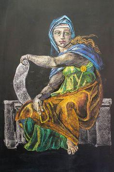 Richmond Waldorf Chalkboard Art by DWO630, via Flickr
