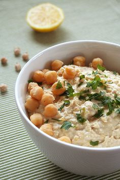 RECIPE: Hummus and pita greens, from Mark Bittman. (He discusses his food philosophy in Audubon's Mar-Apr 2011 issue.) This recipe stars the delicious legume that is the chickpea. [By Michele Wilson Berger/Photograph by Marju Randmer, Flickr Creative Commons]