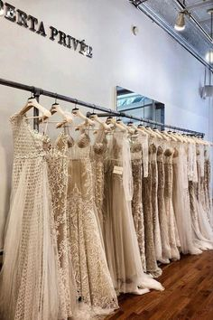 #Privée on display ♡ Berta Bridal, Bridal Gowns, Wedding Dresses, Yes To The Dress, Blonde Highlights, Dream Dress, Indian Fashion, Showroom, Nyc