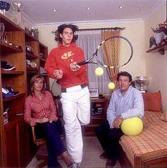 Rafa's parents!