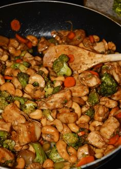 CROCK POT CASHEW CHICKEN RECIPE – Easy Recipes