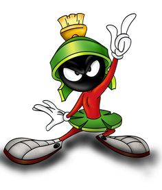 looney tune character - marvin the martian