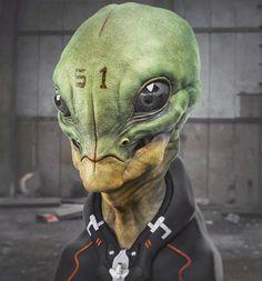 otavioliborio — Reptilian Alien.