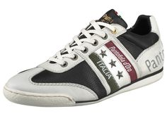 #PANTOFOLA #D´ORO #Herren #Ascoli #Piceno #Low #Sneaker #schwarz / #weiß - Große…