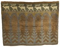 "Väinö Alfred Blomstedt | wool | 74.8"" x 90.6"" | Finland | c. 1903–'08"