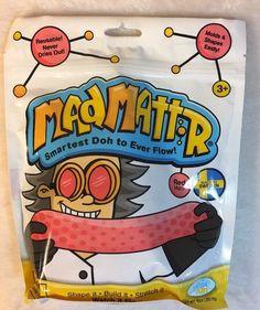 Mad Mattr Red Modeling Doh Putty Waba Fun Dough 10 oz (210-500)  | eBay