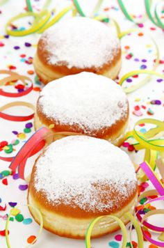 """Berliner Donuts are a German pastry that is been made during the days of """"Karneval"""", """"Fasching"""" or """"Fasnacht"""". You need a deep fryer to make them. Delicious!"""