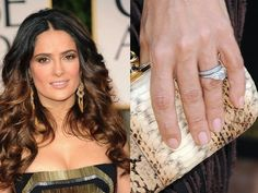When we heard Francois-Henri Pinault had proposed to Salma Hayek, we knew the ring would be spectacular (Pinault is the CEO of Kering, parent company of Saint Laurent Paris, Gucci and many more). Description from ritani.com. I searched for this on bing.com/images