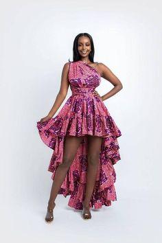 African Print Shirt, African Print Fashion, Fashion Prints, Modern African Print Dresses, Africa Fashion, Tribal Fashion, African Prints, African Wear, African Attire