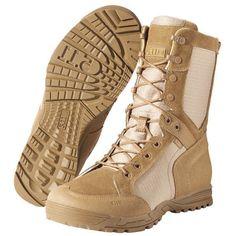 5.11 Recon Desert Mens Boot  Military Patrol Airsoft Hiking Footwear Dark Coyot #511Tactica #DesertBoots
