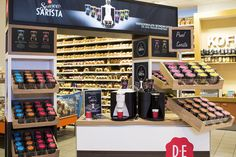 Point of Purchase Design | POP Design | Food POP | Douwe Egberts stand by studiomfd, Amsterdam » Retail Design Blog