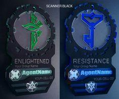 Scanner Black: Agent Badge 2016 (Custom Name, Data, Avatar)