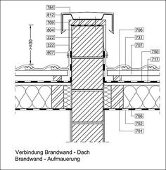 Holzrahmenbau deckenanschluss  curtain wall detail - Google Search | giydirme cephe | Pinterest