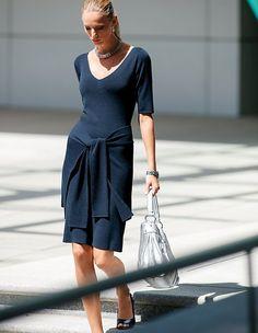Stil in Nürnberg | Stilberatung | Identity Styling - Strickkleid mit Cacheur | MADELEINE Mode