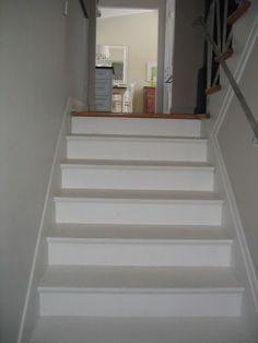 Wonderful White Stairs Home Inspiration Pinterest