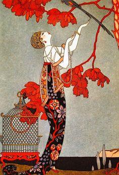 L'oiseau volage - George Barbier, 1914