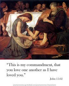 Commands of Jesus.