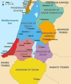 Kingdoms around Israel 830 map - Moab - Wikipedia, the free encyclopedia Religion, Brisbane, Melbourne, Palestine, Image Jesus, Bible Mapping, Phoenician, Bible Knowledge, Historical Maps