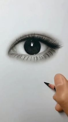 Discover recipes, home ideas, style inspiration and other ideas to try. 3d Art Drawing, Art Drawings Sketches Simple, Girl Drawing Sketches, Art Drawings Beautiful, Pencil Art Drawings, Realistic Drawings Of Eyes, Sketches Of Eyes, Realistic Eye Sketch, Pencil Sketch Art