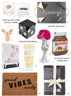 Gift Guide: For the Hostess & Home Sydne Style – Sydne Style