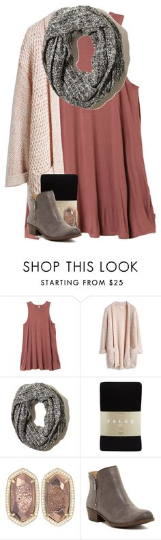 """Fall"" by pastelsummer ❤ liked on Polyvore featuring RVCA, Hollister Co., Falke, Kendra Scott and Lucky Brand"