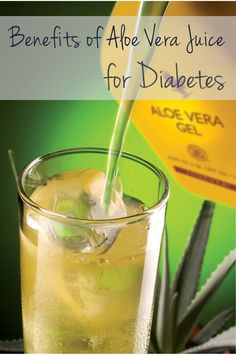 Benefits of Aloe Vera Juice for Diabetes -  Latest studies have reported that Aloe Vera can be taken to control blood-sugar levels and lower them in patients with type 2 diabetes