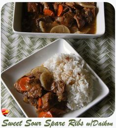 Try this local favorite Sweet Sour Spare Ribs recipe. Delicious! Get more local style recipes here.