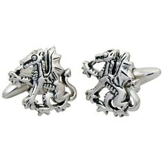 ZAUNICK Fierce Dragon Cufflinks Sterling Silver. Dragon Cufflinks handcrafted in Sterling Silver 925. Exclusive design. Handmade in our studio. 360° Quality Finish (front and back side). Presentation box included.