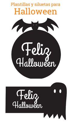 Plantillas de halloween para imprimir ¡¡Queremos empezar a adornar para Halloween!! Para eso hemos empezado a hacerplantillas de calabazas,plantillas de brujas de halloweeny demás dibujos para colorear, imprimir y recortar típicos de la noche de burjas: Murciélagos, vampiros, brujas, gatos negros, fantasmas… y mucho más para imprimir y disfrutar decorando y planificando nuestra fiesta de halloween.   Descargar plantilla feliz halloween Por ejemplo, podemos usar plantillas de halloween…