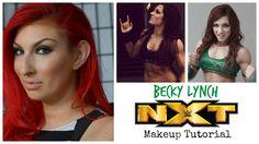 WWE NXT Becky Lynch Makeup Tutorial Nxt Divas, Becky Lynch, Makeup Inspiration, Superstar, Wwe, Inspired, Youtube, How To Wear, Youtubers