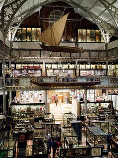 Pitt Rivers Museum Oxford- a truly amazing place sharing the same (beautiful) building as the Oxford University Museum of Natural History. I've visited both many times and will happily go again many more. Both museums are well worth visiting at least once in a lifetime...