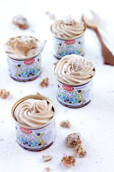 mousse w chestnut cream Thermomix Desserts, No Cook Desserts, Mini Desserts, Delicious Desserts, Dessert Recipes, Mousse Dessert, Creme Dessert, Winter Desserts, No Sugar Foods