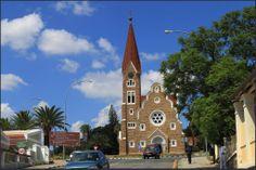 Christuskirche in Windhoek ... C