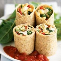 Wrap met Pesto, Parmezaanse Kaas en Parmaham