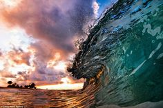 Photographers Nick Selwayand and CJ Kale, in Hawaii.