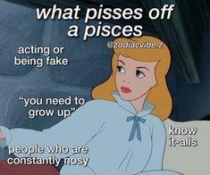 Pisces Love, Pisces Quotes, Zodiac Signs Pisces, Zodiac Signs Astrology, Zodiac Memes, Zodiac Horoscope, Pisces And Capricorn, Pisces Traits, Zodiac Sign Traits