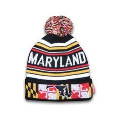 Maryland Flag Beanie