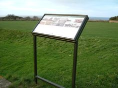 IRS One of the informatory Lectern signs in Hunstanton.