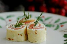 Savoring Time in the Kitchen: Salmon Pinwheels ~ A Lovely Holiday Appetizer