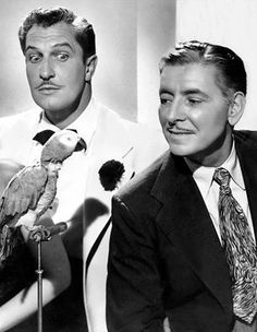 Vincent Price, Ronald Colman and Caesar in Champagne for Caesar 1950