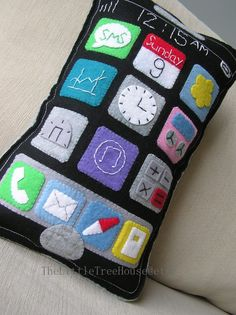 Iphone pillow cute want one